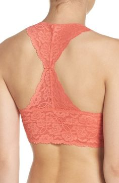 a1625392ad463 Free People Racerback Galloon Lace Bralette