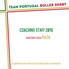 [PT] A Team Portugal Roller Derby tem orgulho em anunciar que já foi escolhida a nova treinadora adjunta–Pulga aka Rita Marques, que irá ajudar a TPRD a realizar mais sonhos e a conq…