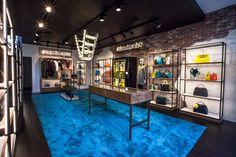 Fendi pop-up store Soho indoor