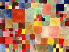 """""""Flora sulla sabbia"""", 1927 di Paul Klee (1879-1940, Switzerland)"""