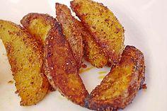 Country-Potatoes oder würzige Kartoffelspalten aus dem Ofen (Rezept mit Bild) | Chefkoch.de