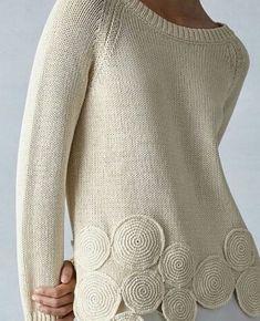 Slim Fit Jeans für Damen Famous Last Words Cardigan Pattern, Sweater Knitting Patterns, Crochet Cardigan, Knit Patterns, Crochet Lace, Vogue Knitting, Hand Knitting, Knit Fashion, Crochet Clothes