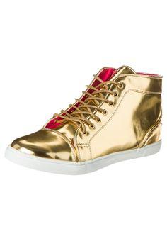 Even   Sneaker high - gold