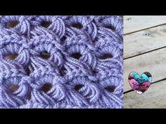 Punto peruano a crochet (diestro) - YouTube