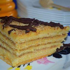 Marlenka Vanilla Cake, Tiramisu, Pie, Breakfast, Ethnic Recipes, Desserts, Food, Torte, Tailgate Desserts