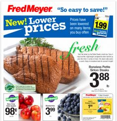 Fred Meyer Coupon Deals: Week of 8/24