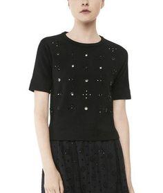 Marc Jacobs Anja Short Sleeve Sweater