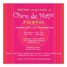 Shop Cinco de Mayo/Fiesta Invitation created by Pastimedesigns. Sesame Street Invitations, Disney Invitations, Sweet 16 Invitations, Save The Date Invitations, Baby Shower Invitations, Invitation Cards, Custom Invitations, Holiday Party Invitation Template, Holiday Party Invitations