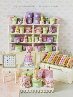 miniature* LADUREE Part 3 出来ました♪ : natural色の生活~handmade家具