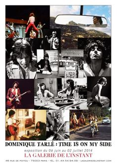 """""""Time is on my side"""" Dominique Tarlé's exhibition of ROLLING STONES pictures from Nellcote 1971. ♥ #RollingStones  #KeithRichards #BrianJOnes #RonnieWood #CharlieWatts #MickJagger #BobbyKey #AnitaPallenberg #NickTaylor"""