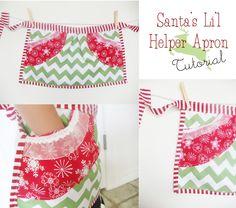 Santa's Lil Helper Apron