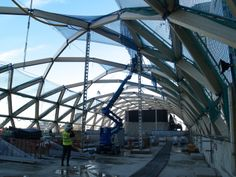 First look inside Canary Wharf Crossrail Station.