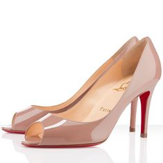 Christian Louboutin You You 85mm Leather Pumps Nude $148.15