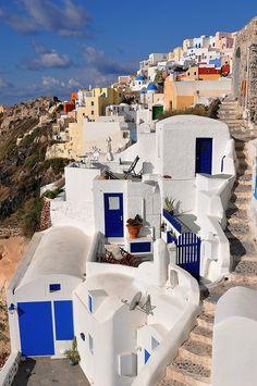 sonho ilha Santorini conto de fadas ilha (grande reportagem fotográfica)