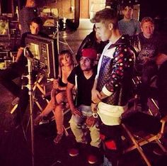 "VIDEO: Justin Bieber Filming ""LOLLY"" Music Video ft. Maejor Ali & Juicy J"