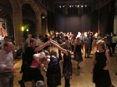 Portobello regular Friday ceilidh, 7th August 2015 with the Canongate Cadjers