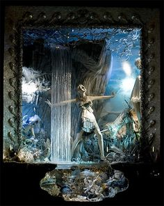 Bergdorf Goodman Holiday Windows 2008