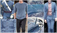 Top Color, Menswear Market, F/W 2015-16, CADET BLUE (Regal Shades)