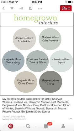 Edgecomb gray common areas our house pinterest - Gray clouds sherwin williams exterior ...