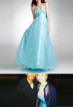 Quinn Fabray's dress
