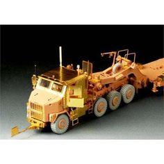 Modern U.S. M1070 Truck Tractor Amour Cabin basic