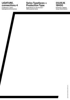 #ligature #swissdesign #swiss #graphicdesign #letter #type #typography
