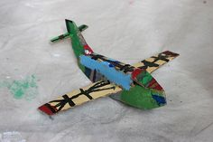 T's cardboard airplane toy | Flickr - Photo Sharing!