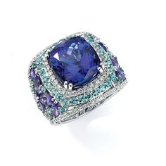 2012 JCK Jewelers' Choice Award Winner    Tanzanite Jewelry Over $10,000 Category
