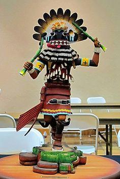 Katsina - Adrian Nasafotie - Hopi Festival - Museum of Northern Arizon by Al_HikesAZ, via Flickr