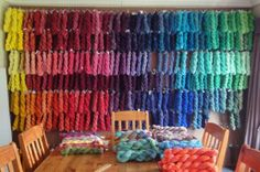 ColourSpun offers an extensive selection of hand-dyed designer yarns on their website.