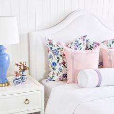 Bedroom Sets, Girls Bedroom, Bedrooms, Preppy Bedroom, Preppy Bedding, Hydrangea, Bedroom Furniture, Bedroom Decor, Wall Decor