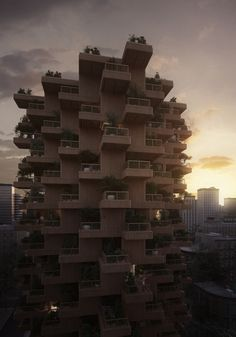 Gallery of Penda Designs Modular Timber Tower Inspired by Habitat 67 for Toronto - 12