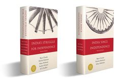 Book covers for two related books on India's freedom movement and India after independence. India Since Independence, Understanding Yourself, Penguin, Book Covers, Freedom, Books, Design, Liberty, Livros