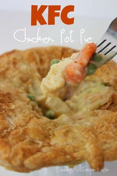Raining Hot Coupons • Copycat KFC Chicken Pot Pie  (P)