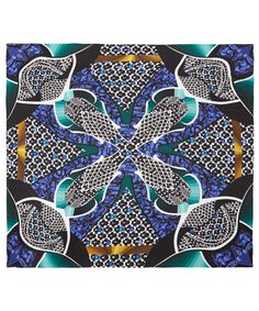 Kaleidoscopic's prints from Peter Pilotto. Shop the designer-duo's silk scarves here http://www.liberty.co.uk/fcp/categorylist/designer/peter-pilotto #LibertyScarves