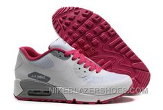 a4040fe25ce4 Nike Air Max 90 Hyperfuse Womens White Red Low For Sale JcEjd