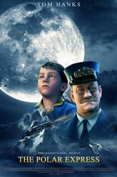 The Polar Express is a 2004 Adventure, Animation film directed by Robert Zemeckis and starring Tom Hanks, Nona Gaye. Xmas Movies, Best Christmas Movies, Great Movies, Holiday Movies, Christmas Classics, Christmas Eve, The Polar Express 2004, Polar Express Party, Film D'animation