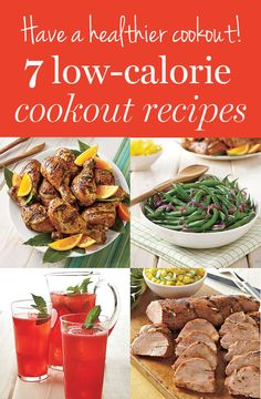 Have a healthier cookout with these low-calorie recipes #healthy food recipes under 300 calories