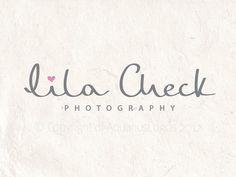 Photography logo design handwritten signature by AquariusLogos, $40.00