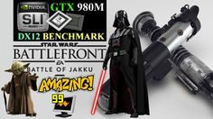 STARWARS BATTTLEFRONT PC | DX12 | GTX 980M SLI | LAPTOP | BENCHMARK | MA...