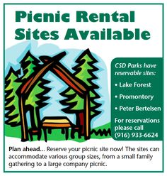 Ferguson Real Estate EDH 95762 - Picnic Site Rentals EDH Parks Hill Park, Company Picnic, Lake Forest, Picnic Area, Community Service, How To Plan, Logos, Parks, Real Estate