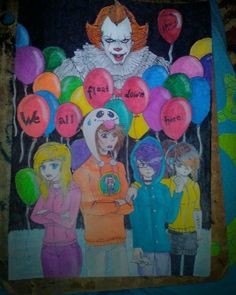 We all float down here🎈🎈🎈🎈
