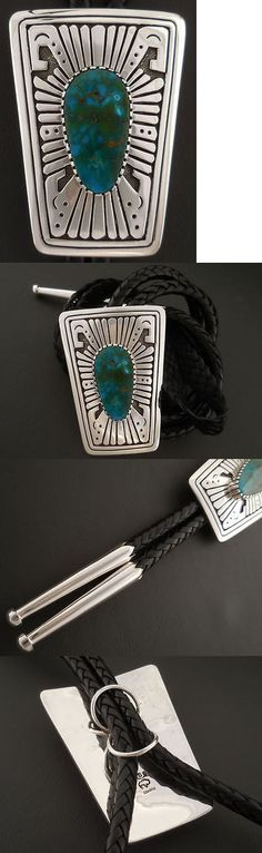 Bolo Ties 10292: Red Mountain Turquoise Bolo Tie Authentic Native American Handmade Sam Gray -> BUY IT NOW ONLY: $869.66 on eBay!