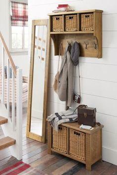 Hartford® Solid Pine Wall Unit   Stuff to Buy   Pinterest   Hallways ...