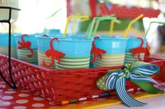 Monkey See, Monkey Do Birthday party! So many cute ideas! Via Kara's Party Ideas KarasPartyIdeas.com