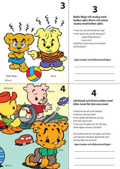 7 Situationsbilder för nedladdning – Bamse.se School Classroom, School Teacher, Pre School, Social Activities, Preschool Activities, Preschool Friendship, Teacher Education, Character Education, Working With Children