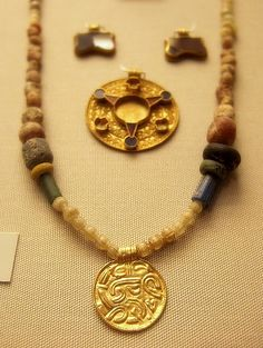 Anglo-Saxon necklace British Museum