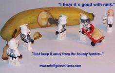 Clone Wars banana split