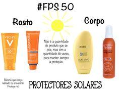Protectores solares no blog ☀️☀️ http://ofabulosodestinodemariaamelia.pt/protectores-solares/