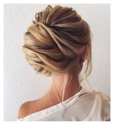 """Pretty chignon ❤️"" by tiff2016 ❤ liked on Polyvore"